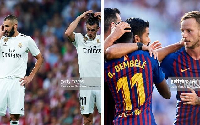 """""""Real"""" xal itirdi, """"Barselona"""" vahid lider oldu"""