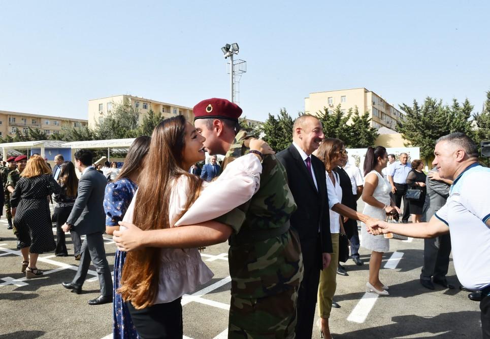 Prezident İlham Əliyevin oğlu and içdi