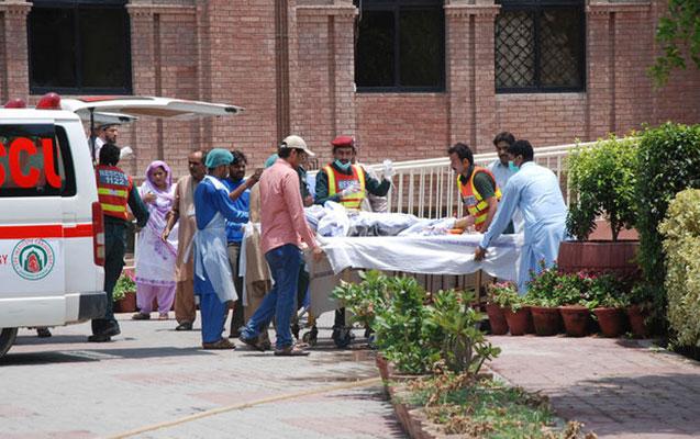 Pakistanda bazarda partlayış, 12 ölü, 50 yaralı