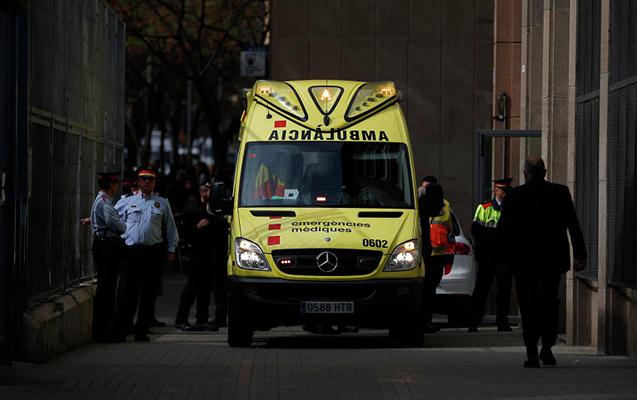Madriddə metroda noutbuk partlayıb, yaralılar var