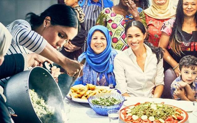 Meqan Markl müsəlman qadınlarla yemək bişirdi, kitab yazdı