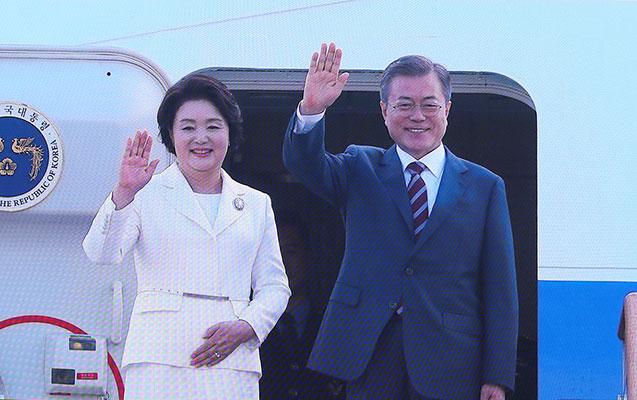 Cənubi Koreya prezidenti Pxenyanda