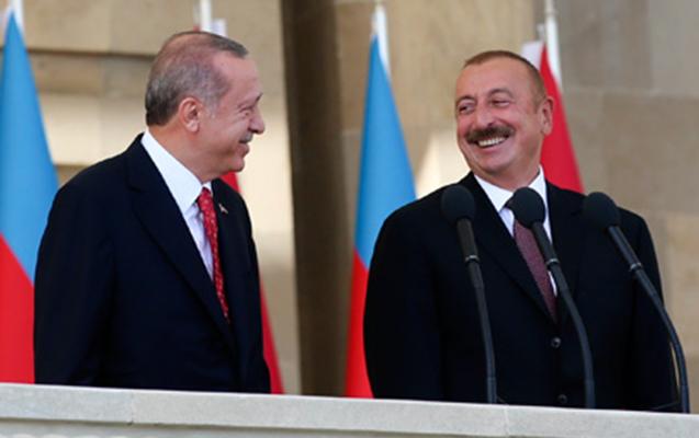 Əliyev Ərdoğanla türkcə danışdı