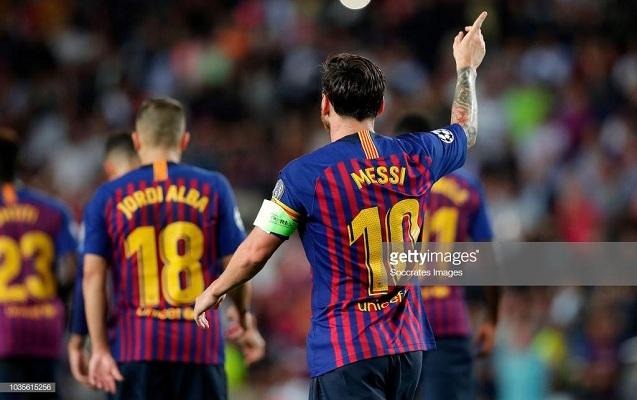 Messi şou göstərdi