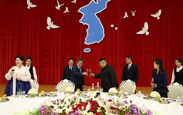 Şimali və Cənubi Koreya prezidentləri hərbi sahədə saziş imzaladılar