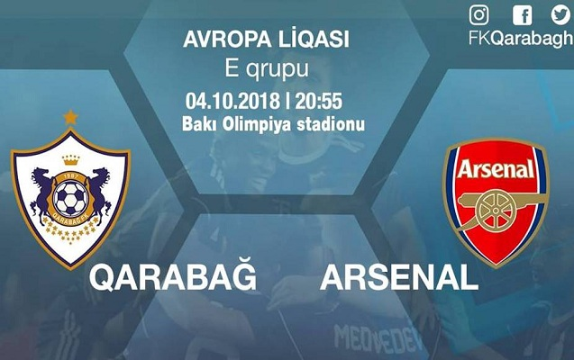 """""""Qarabağ"""" - """"Arsenal"""" matçının bilet qiymətləri açıqlandı"""