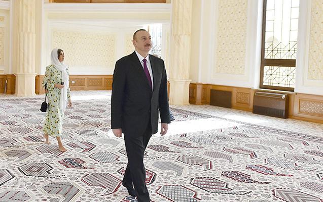 İlham Əliyev şəxsi hesabına məscid tikdirəcək