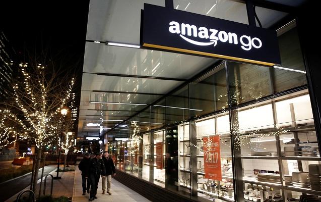 """""""Amazon"""" satıcısız 3 min mağaza açmaq istəyir"""