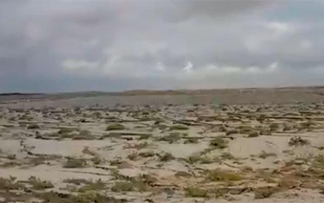 Vulkan püskürən yerdən son görüntülər