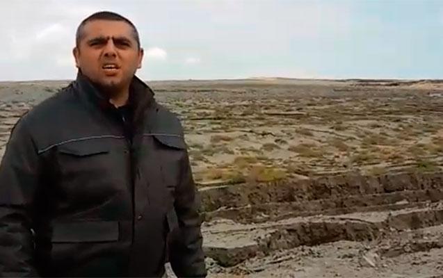Qaradağda vulkanın püskürdüyü ərazidə  vəziyyət necədir?