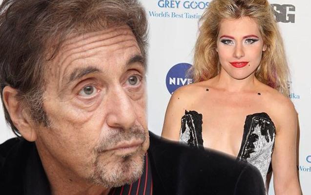Al Pacino özündən 39 yaş kiçik aktrisayla sevgilidir