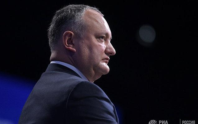 Moldova prezidenti postundan uzaqlaşdırıldı