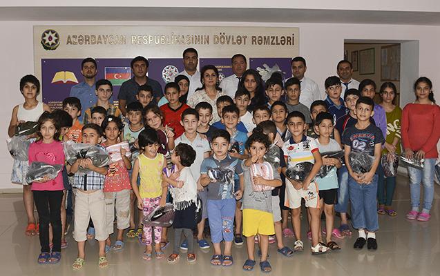 NIKOIL | Bank-ın əməkdaşları Lənkəranda uşaq evini ziyarət etdilər