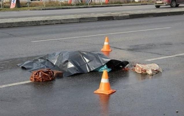Bakıda piyada keçidində ağır qəza - Qadın nəvəsi ilə öldü