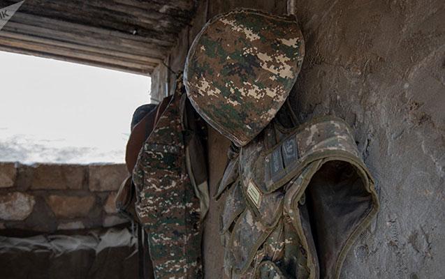 Qarabağda erməni hərbçisi öldü