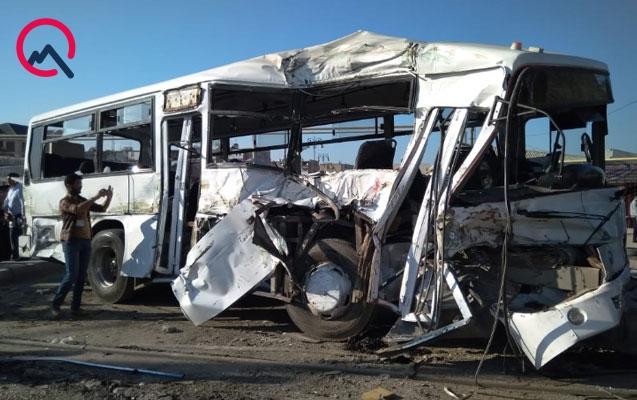 Qatara çırpılan avtobusun sürücüsü ilə bağlı şok - İddia
