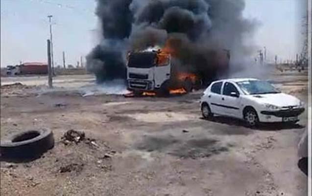 İranda sürücülərdən hökumətə etiraz