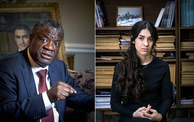 Sülh üzrə Nobeli onlar aldı - Biri ginekoloq, digəri İŞİD girovu...