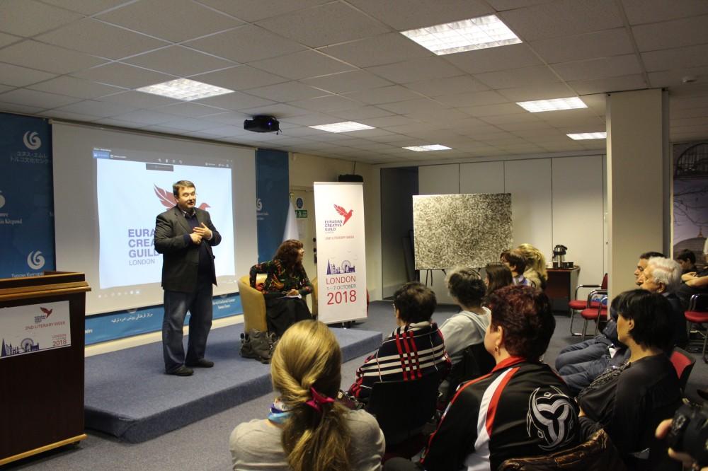 Londonda Leyla Əliyevanın kitabının təqdimatı keçirildi - Fotolar