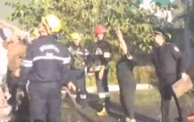 Qəbələdə 23 yaşlı qızın öldüyü yanğının videosu - 3-nün vəziyyəti ağırdı