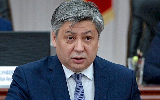 Qırğızıstanın XİN başçısı səfirin açıqlamasından sonra istefa verib