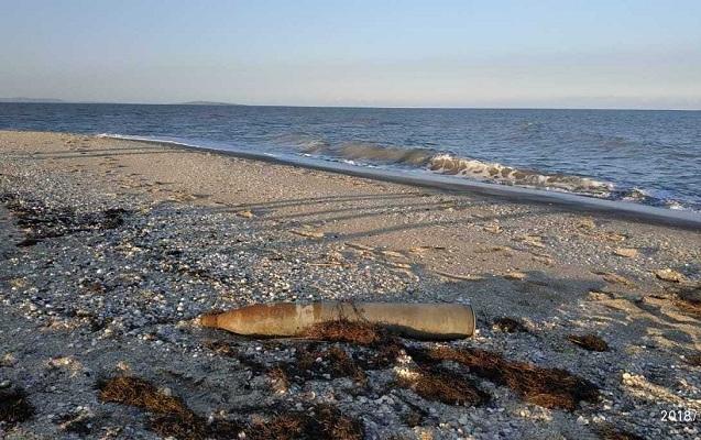 Salyanda iki raket tapıldı - Fotolar
