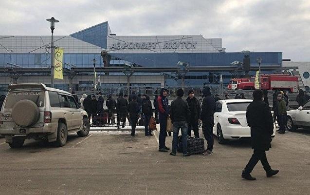Rusiyada hava limanı boşladıldı