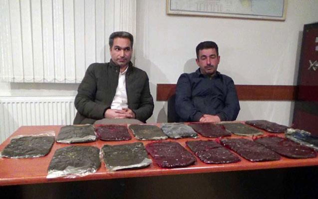 İrandan Azərbaycana külli miqdarda narkotik keçirilməsinin qarşısı alındı