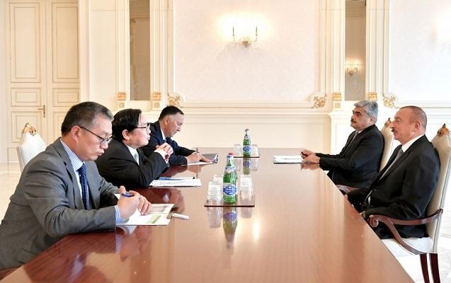 İlham Əliyev Asiya İnkişaf Bankının vitse-prezidentini qəbul etdi