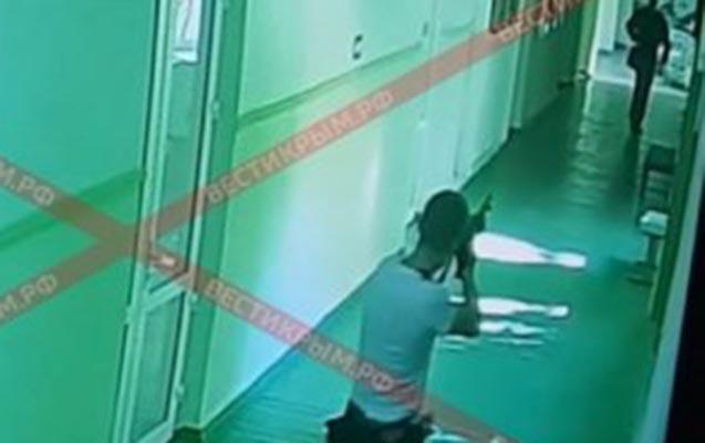 Krımdakı terrorun görüntüləri yayıldı - Video