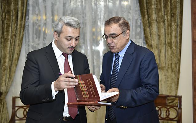 Misirdə Emil Rəhimovun kitabının təqdimatı olub - Fotolar