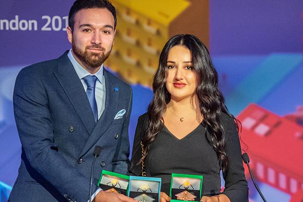 """""""Gilan Holding"""" 3 Beynəlxalq Biznes Mükafatına layiq görüldü"""