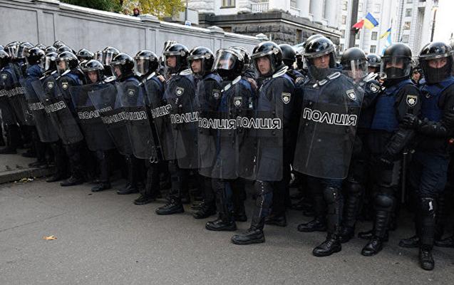 Kiyevdə Poroşenkonun iqamətgahı qarşısında etiraz aksiyası