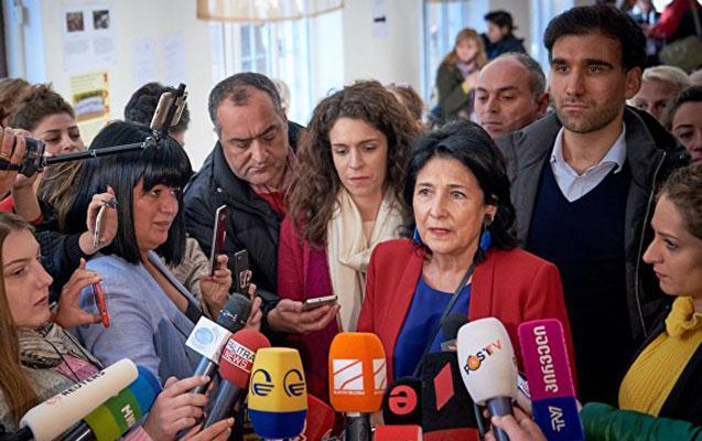 Gürcüstanda qadın namizəd liderdir