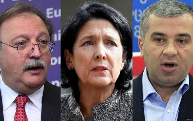 Gürcüstanda prezident ikinci turda seçiləcək