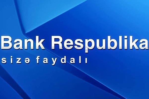 Bank Respublikanın xalis faiz gəlirləri artıb