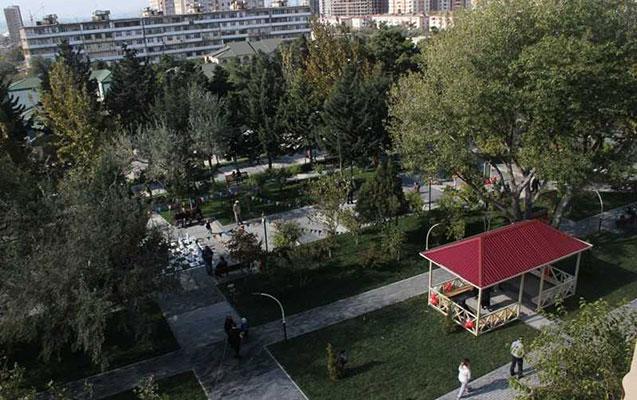 Nizamidə istirahət parkı istifadəyə verilib