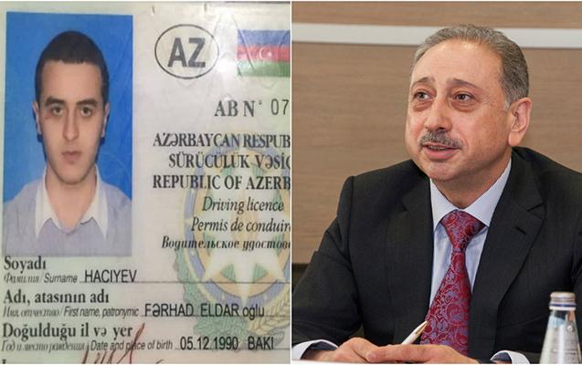Polis AZAL-ın vitse-prezidentinin oğlunu sərxoş halda saxladı - Fotolar