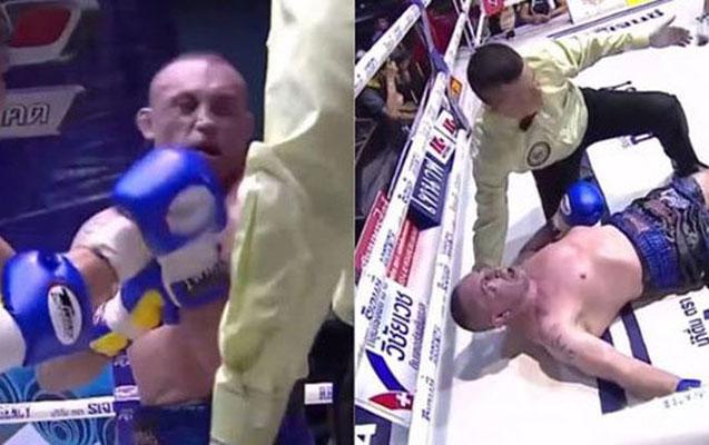 Rinqdə komaya düşən boksçu öldü - Video