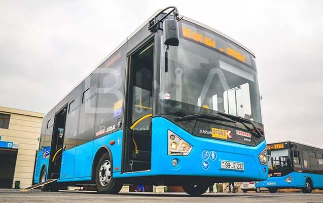 Binədəki qəzadan sonra 160-ın avtobusları dəyişdi -