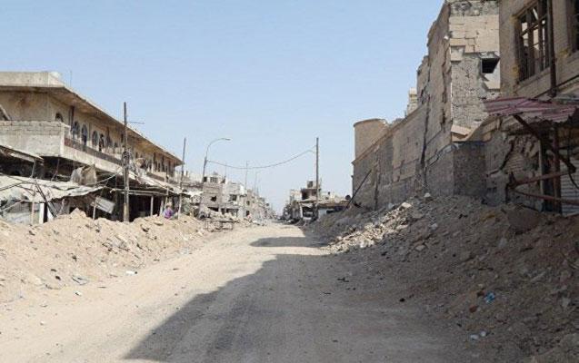 Mosulda partlayış
