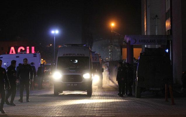 Türkiyədə hərbi bazada partlayış