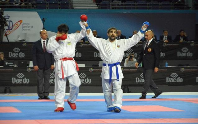 Karateçimiz dünya çempionu oldu