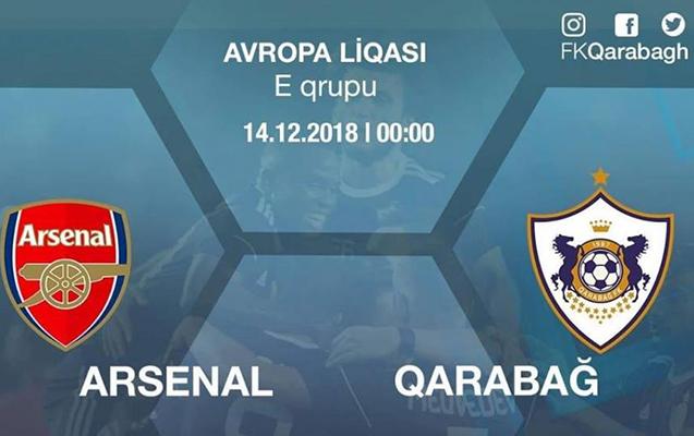 """""""Qarabağ""""- """"Arsenal"""" oyununun biletləri satışda"""