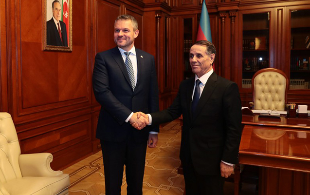 Azərbaycan və Slovakiyanın baş nazirləri görüşdü