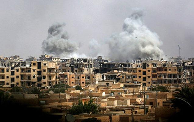 ABŞ Suriyanı bombaladı