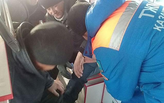 Qazaxıstanda sərnişin avtobusları toqquşdu