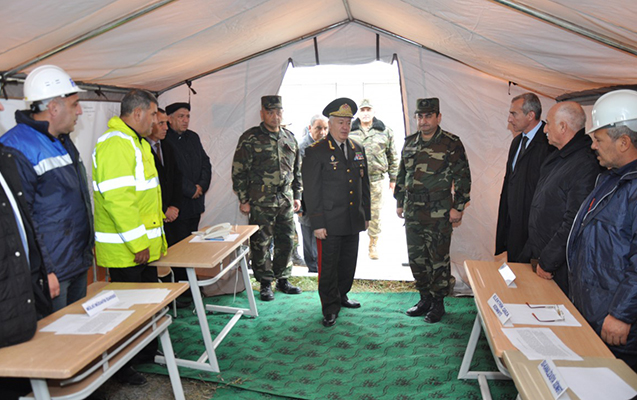 General Mirzəyev tapşırıq verdi