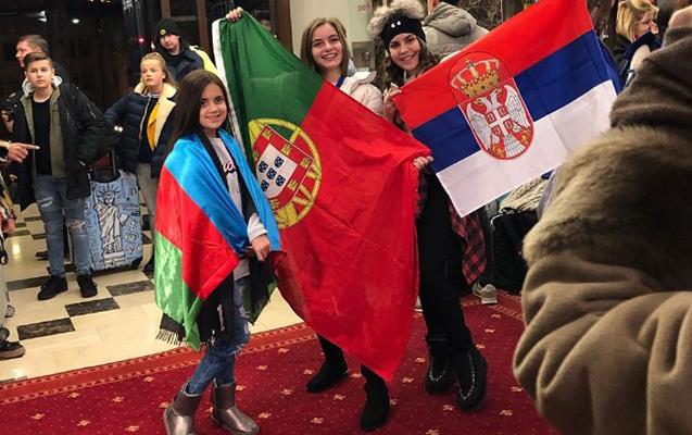 """""""Eurovision"""" üçün Belarusa getdi"""