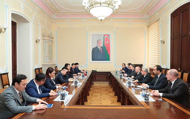 Azərbaycanla Monqulustan arasında memorandum imzalandı